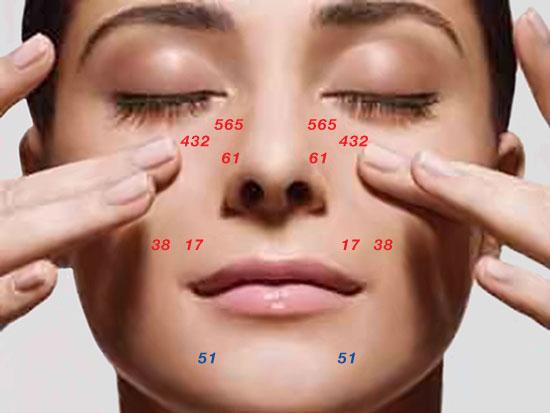 strumenti originale Riflessologia facciale Dien Chan