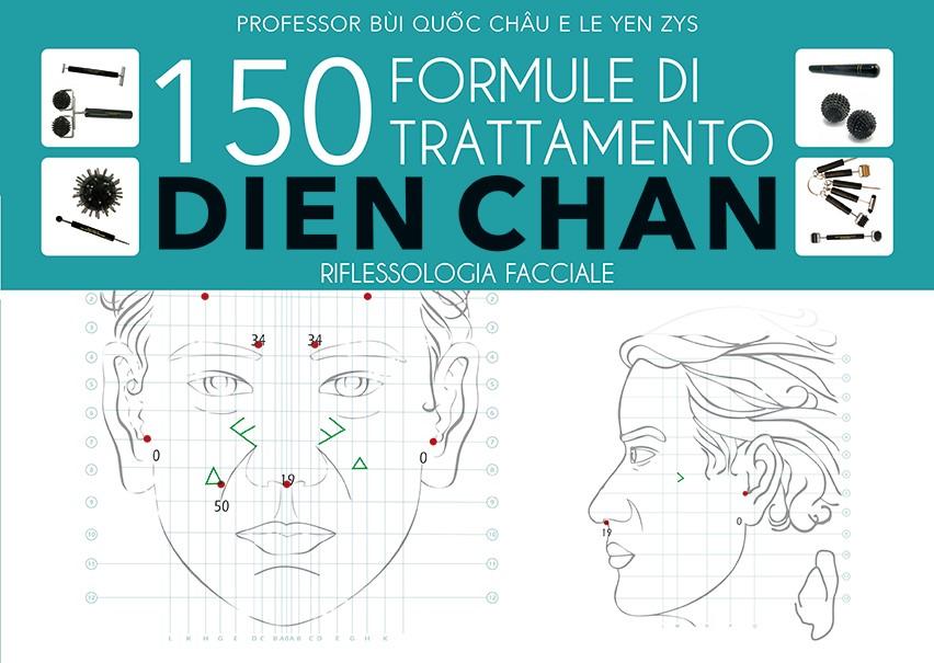 Libro di Riflessologia Facciale 150 Formule di Trattamento Dien Chan