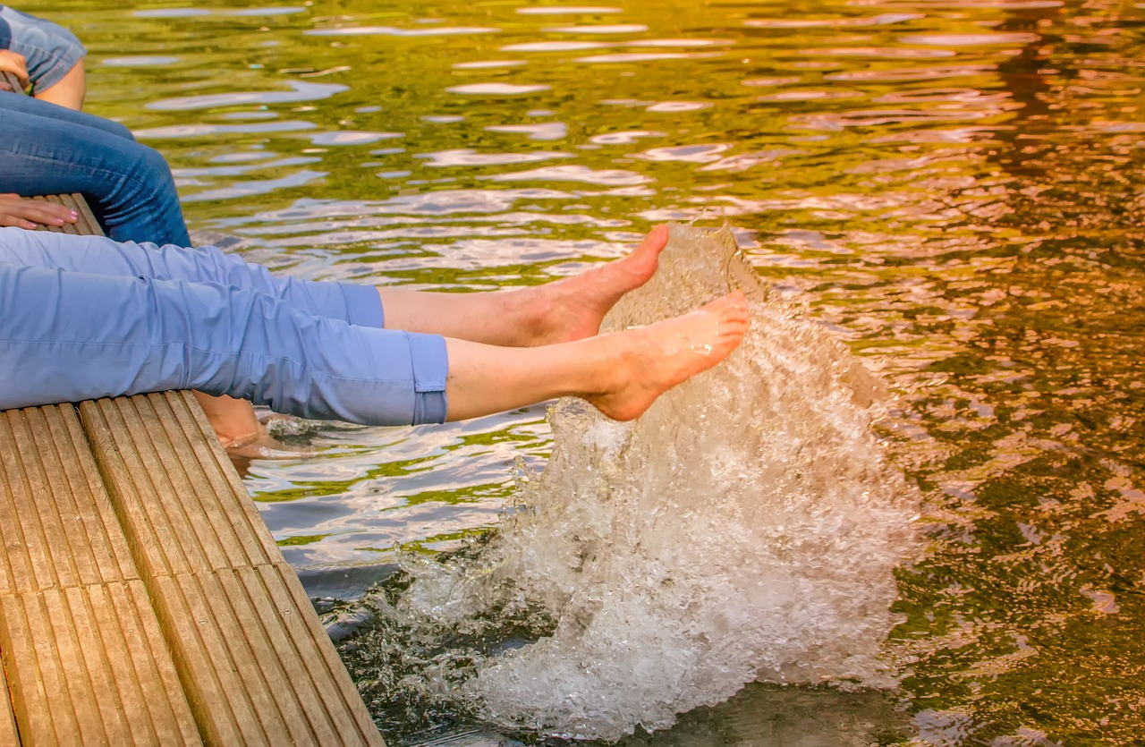 Gambe pesanti in estate